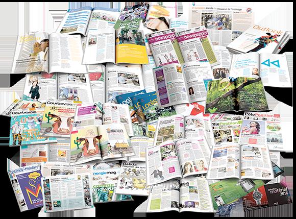 Réalisations graphiques - Arzur Philippe Graphiste FreeLance - Tél 06 87 24 05 17 - Mise en page, création graphique, direction artistique