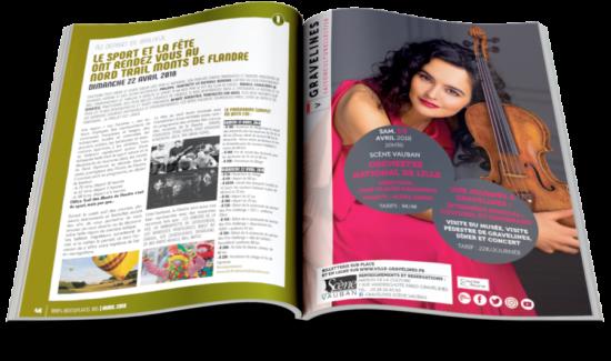 Maquette revue 100% BONS PLANS - Arzur FreeLance - Tél 06 87 24 05 17 - Mise en page, création graphique, direction artistique