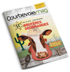 Maquette magazine Courbevoie Mag - Mise en page - Arzur Philippe Graphiste freelance 06 87 24 05 17