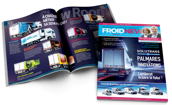 Une mise en page magazine Froid News - Arzur Philippe Graphiste FreeLance - Tél 06 87 24 05 17 - Mise en page, création graphique, direction artistique