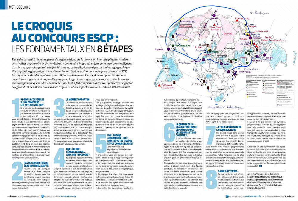 Exemple mise en page magazine Le Major - Arzur Philippe Graphiste FreeLance - Tél 06 87 24 05 17 - Mise en page, création graphique, direction artistique