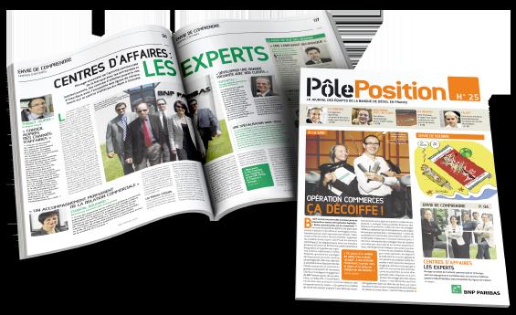 Une mise en page magazine Pole Position - Arzur Philippe Graphiste FreeLance - Tél 06 87 24 05 17 - Mise en page, création graphique, direction artistique
